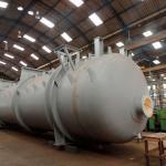 Fabricação de tanques em aço carbono
