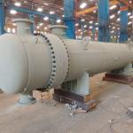 Trocador de calor casco tubo em aço inox